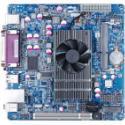 供应D525主板6COM支持SSD卡12V直流DDR3代内存汉智星