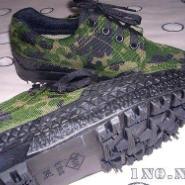 生产橡胶九九作训鞋的机械图片