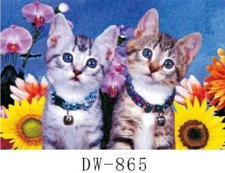 可爱小动物立体画图片