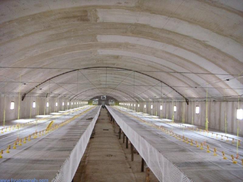 最新拱形保温鸡舍5 专业设计安装玻璃钢保温室 河北 高清图片
