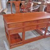 供应非洲花梨木家具-红木办公桌-书桌-老板台