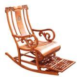 供应红木牡丹摇椅,东阳鲁创红木,非花