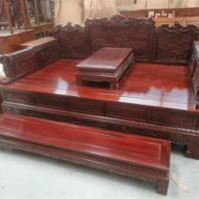 供应红木大床-红木家具-非洲花梨木-古典家具-鸡翅木大床-明清红木