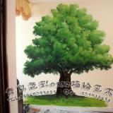 供应青岛手绘墙画