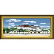 义乌最大的十字绣生产厂家精准印花图片
