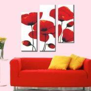 红色迷情精准百分百印花十字绣图片