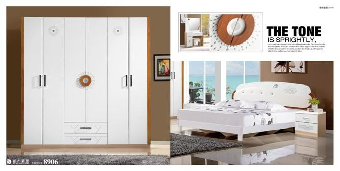 供应板式实木套房卧室家图片
