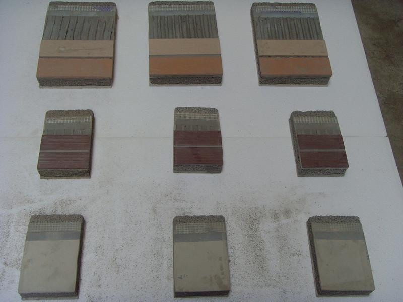 泡沫混凝土图片 泡沫混凝土样板图 外墙瓷砖饰面泡沫 高清图片