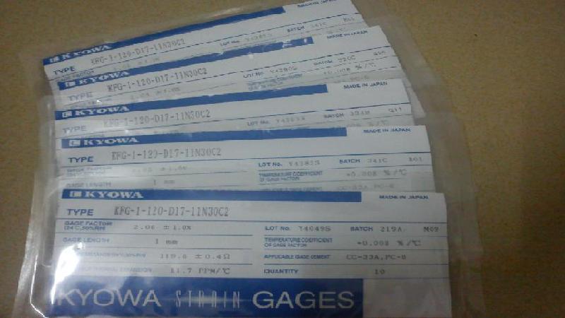 供应日本共和应变片,KYOWA应变片,直角应变花,应变片价格,应变计