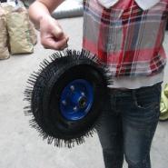 10寸充气轮胎图片