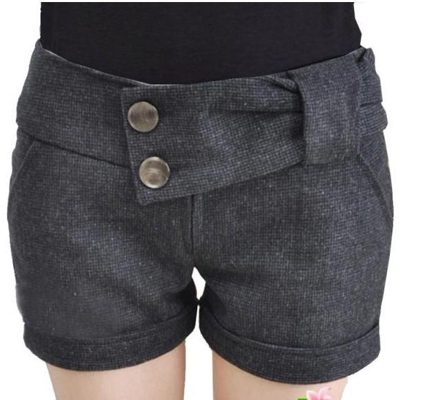 女装短裤批发 女装短裤 女装冬季短裤