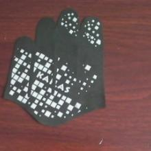 供应手套裁片滴胶硅胶立体印刷图案美观防滑加工批发