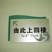 石家庄办公楼宇标识标牌导向系统蓝涂广告公司图片