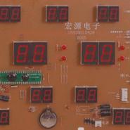 数码万年历电脑板加工厂图片