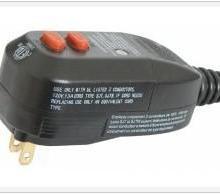 供应美式漏电保护插头,漏电保护器,GFCI漏电保护插头,漏电保护插头批发