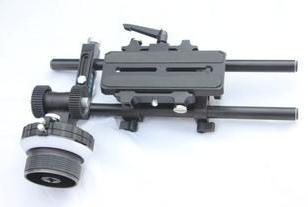 航影跟焦器套装-5D2单反便携跟焦器图片