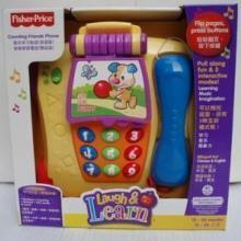 费雪玩具音乐学习电话P8015