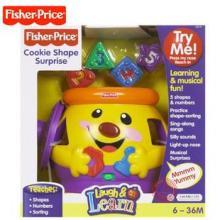 费雪玩具中英文双语小可爱曲奇罐V8725