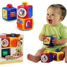 费雪叠叠方积木74121玩具