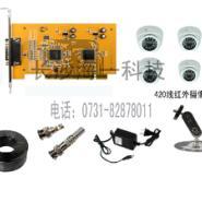 长沙监控安装4路经济型监控套装图片