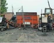 郑州蜂窝煤机上料机图片