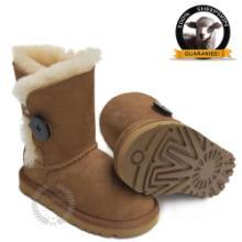 供应工厂直销真皮儿童经典款雪地靴批发