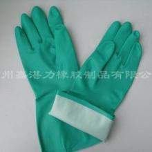 供应防酸碱手套丁腈防油耐磨丁晴手套化工防化手套工业劳保手套图片