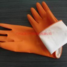 供应保暖橱房洗碗手套乳胶手套/洗衣/洗碗手套/家用加绒手套图片