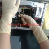 12寸净化麻面乳胶手套/专业洁净室图片
