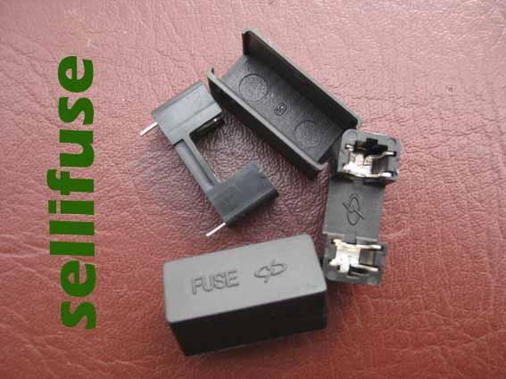 供应FUSE黑色保险丝座保险丝盒5x20保险管座