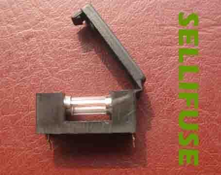 供应BLX-A黑色保险丝盒保险管座塑胶保险丝座