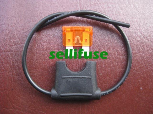 供应中型汽车插片防水保险丝盒汽车保险丝座