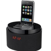 苹果iPod/iPhone音箱底座USB播放SD插卡音箱酒店客房闹钟