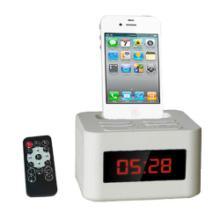 供应苹果U盘USB播放iphone底座播放器带FM收音音响音箱厂家