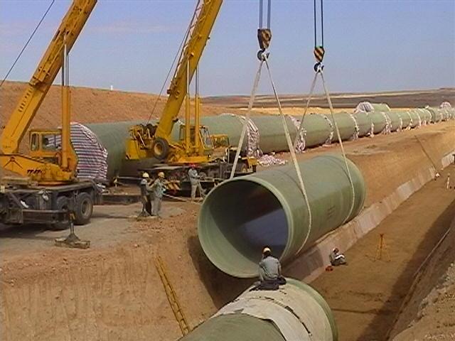 供应新疆优质玻璃钢夹砂管道