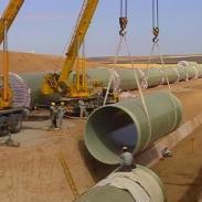 新疆优质玻璃钢夹砂管道图片