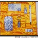 青花瓷会议商务套装青花瓷六件套图片