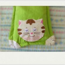 供应婴幼儿保健枕头睡猫款式卡通枕头批发婴幼儿保健枕儿童寝具批发