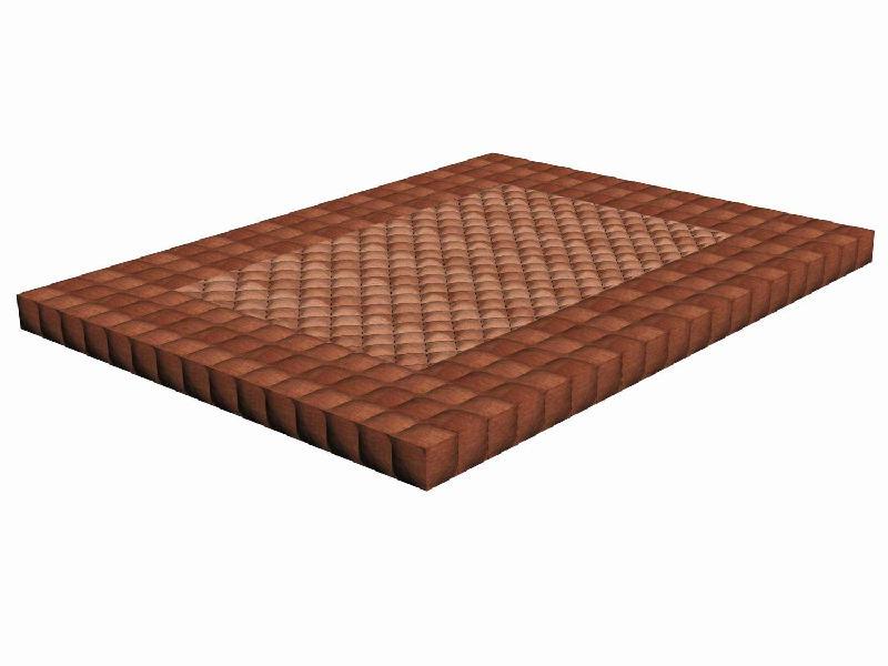 供应无胶棕床垫