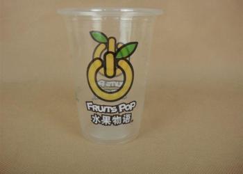高透明珍珠奶茶杯图片