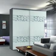 无锡强化玻璃移门图片