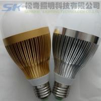 供应大功率LED球泡灯 5W室内照明LED球泡灯