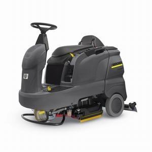 凯驰座驾式洗地车 德国凯驰扫地车KM100/100