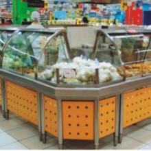 供应B型超市不锈钢设备展示台保温台批发