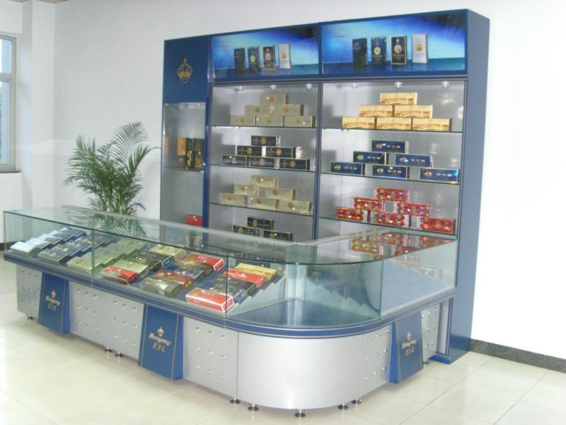 南宁展示柜台定做玻璃柜文件柜手机图片