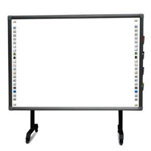 感应交互式电子白板便携式白板图片