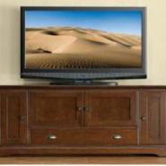 美式实木电视柜图片