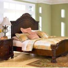 供应嘉兴双人床 卧室家具组合 美式田园家具房间组 成套家具 双人床图片