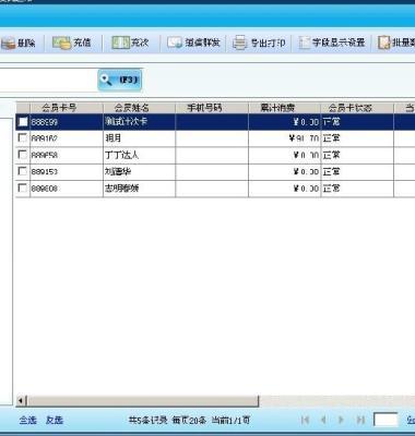连锁会员管理软件图片/连锁会员管理软件样板图 (3)