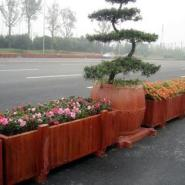 供应益阳水泥仿木花箱制作,益阳水泥仿木花箱厂家,益阳水泥仿木花箱价格